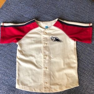 Toddler Boys Baseball Jersey